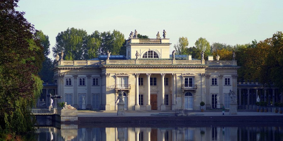 Royal Bath in Varsavia